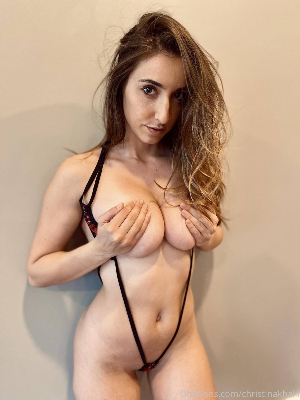 Naked khalil Christina Khalil