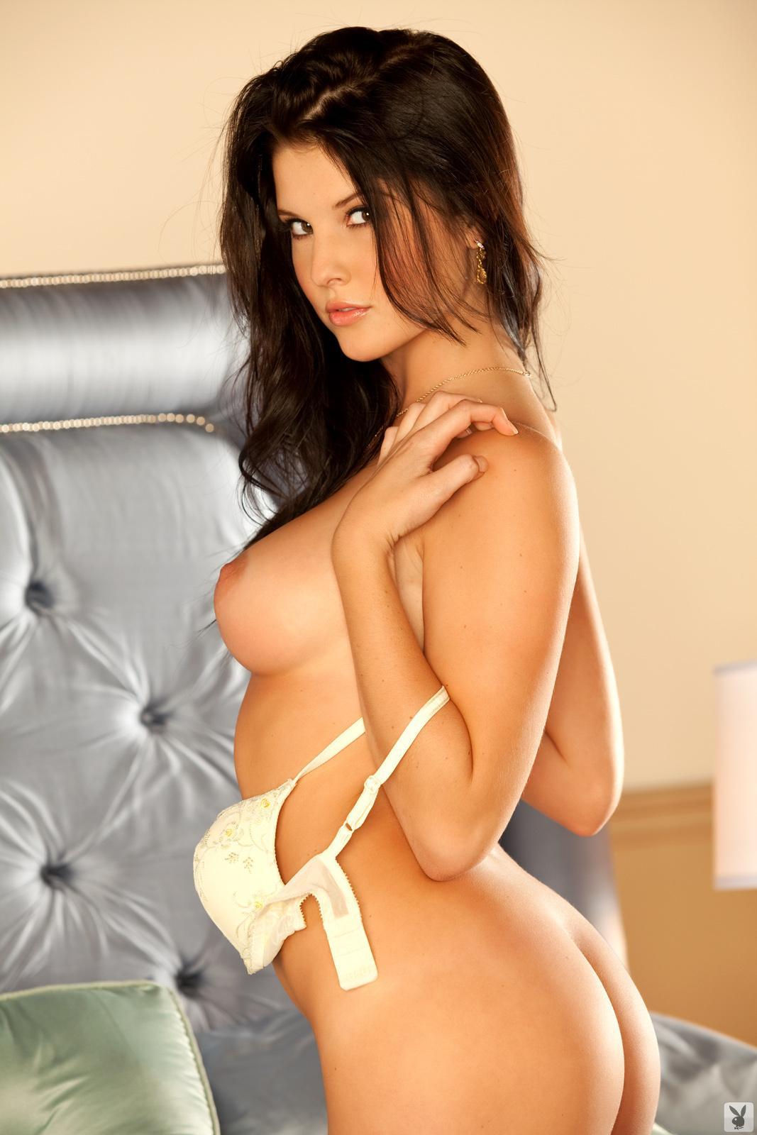 Amanda Cerny Playboy Lingerie Bedroom Nudes Leaked