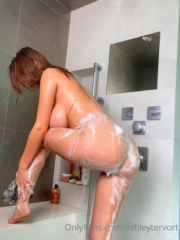 Ashley Tervort Nude Shower Onlyfans Video Leaked 4