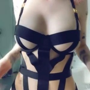 Bhad Bhabie Sexy Straps Thong Onlyfans Video Leaked 3