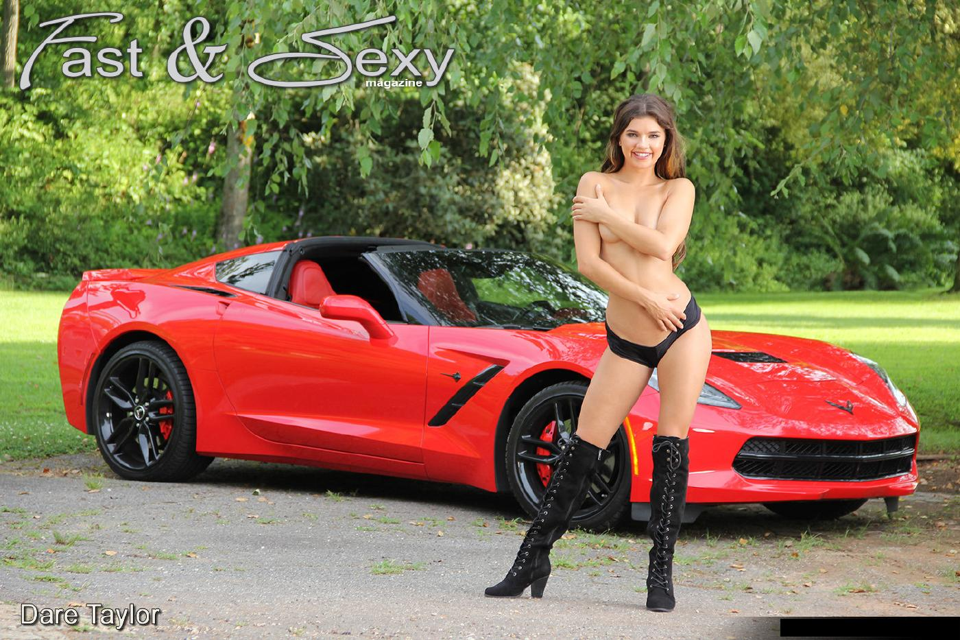Dare Taylor Naked Sports Car Strip Nudes Leaked 11