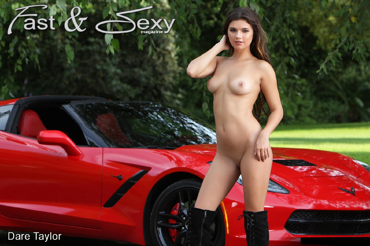 Dare Taylor Naked Sports Car Strip Nudes Leaked 13