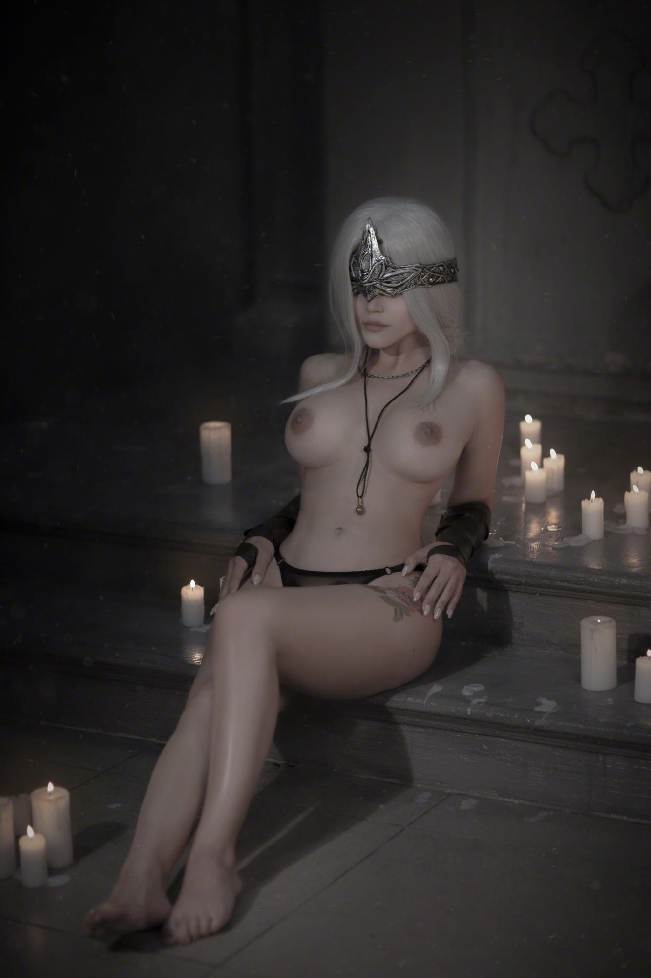 Kalinka Fox Fire Keeper Dark Souls Patreon Set Leaked