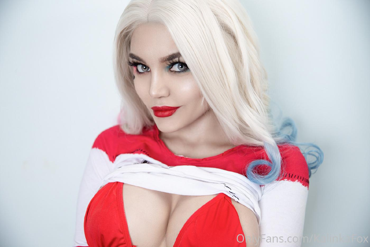 Kalinka Fox Harley Quinn Nude Cosplay Set Leaked 14
