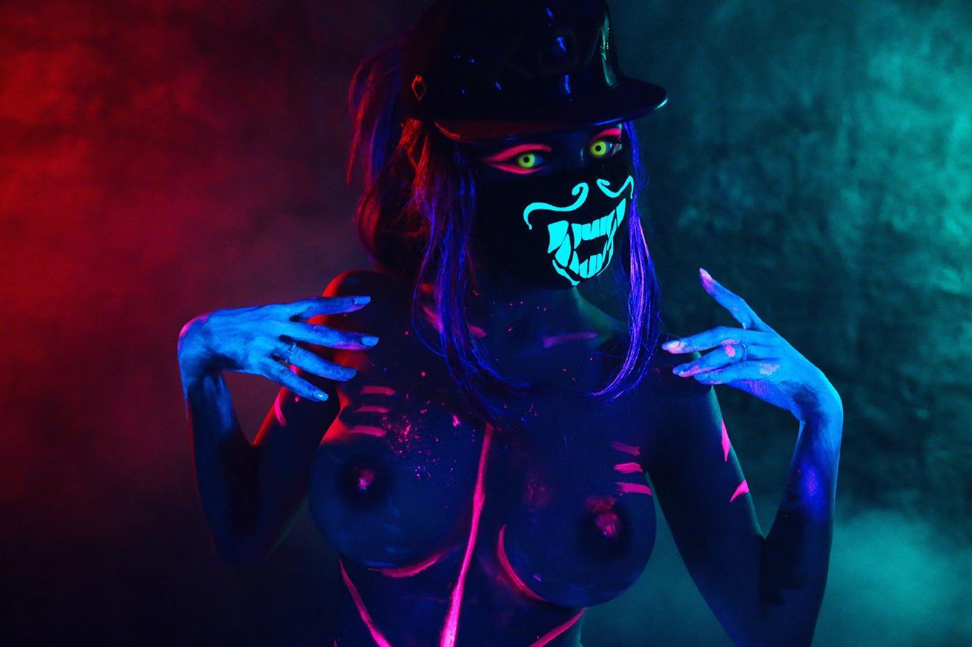 Kalinka Fox Nude Akali Cosplay Leaked 12