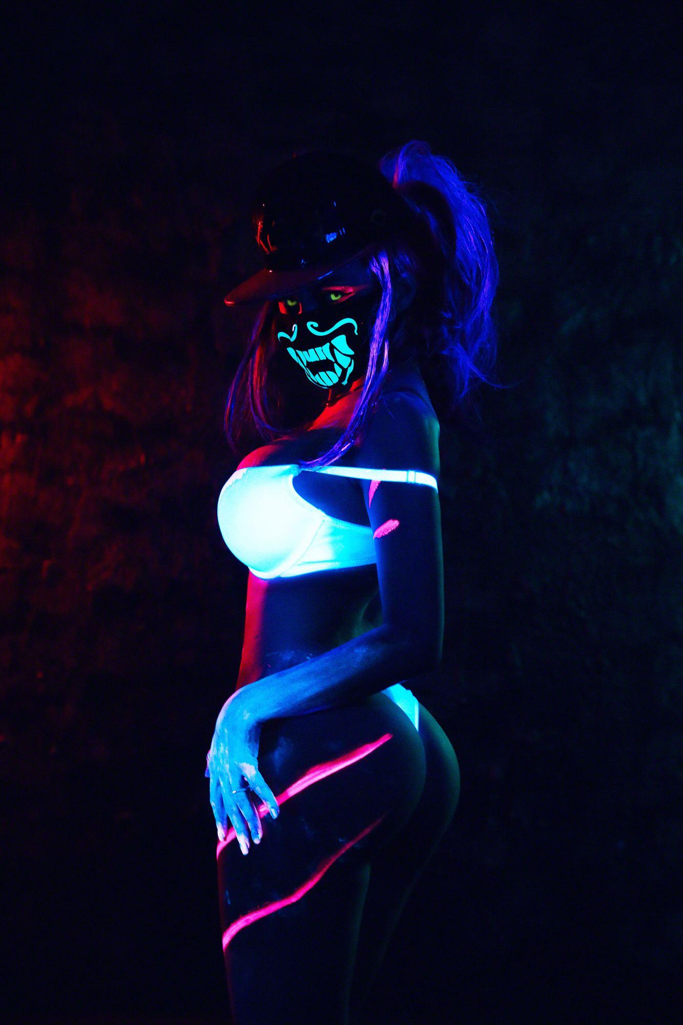 Kalinka Fox Nude Akali Cosplay Leaked 25