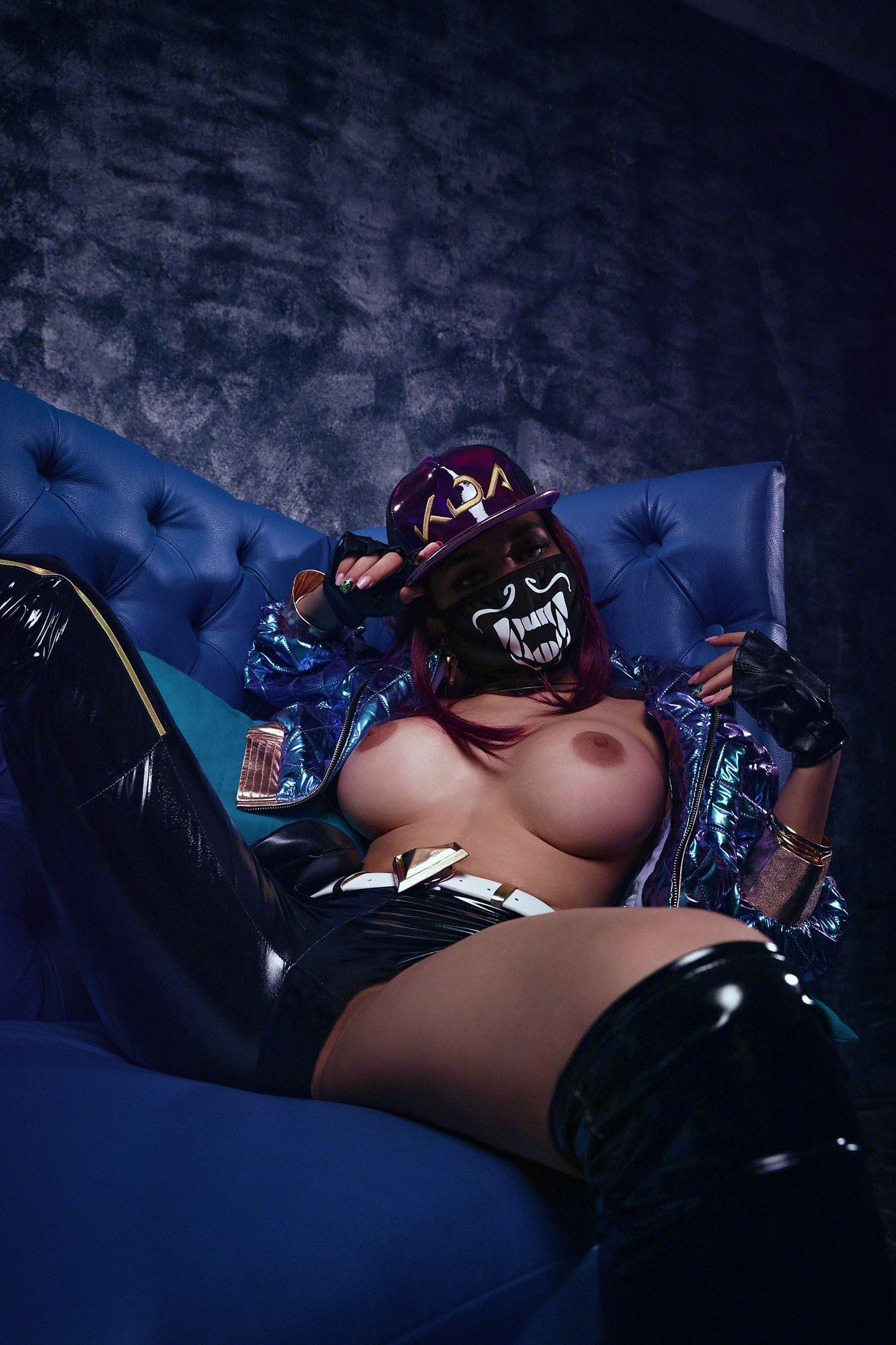Kalinka Fox Nude Akali Cosplay Leaked 26