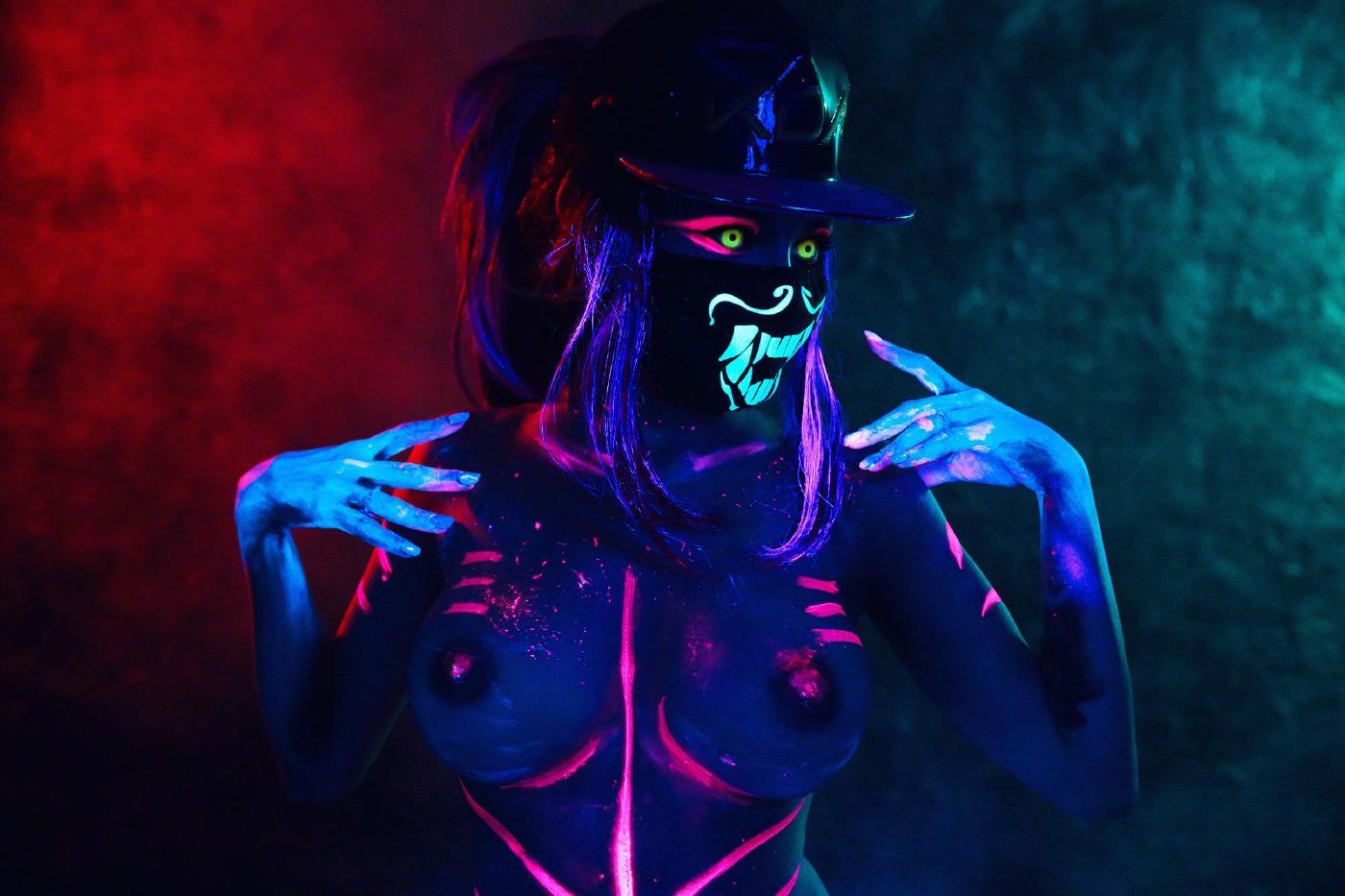 Kalinka Fox Nude Akali Cosplay Leaked 27