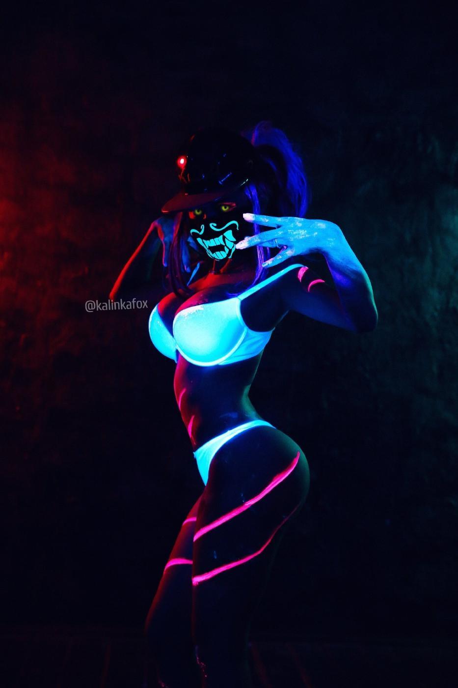 Kalinka Fox Nude Akali Cosplay Leaked 32