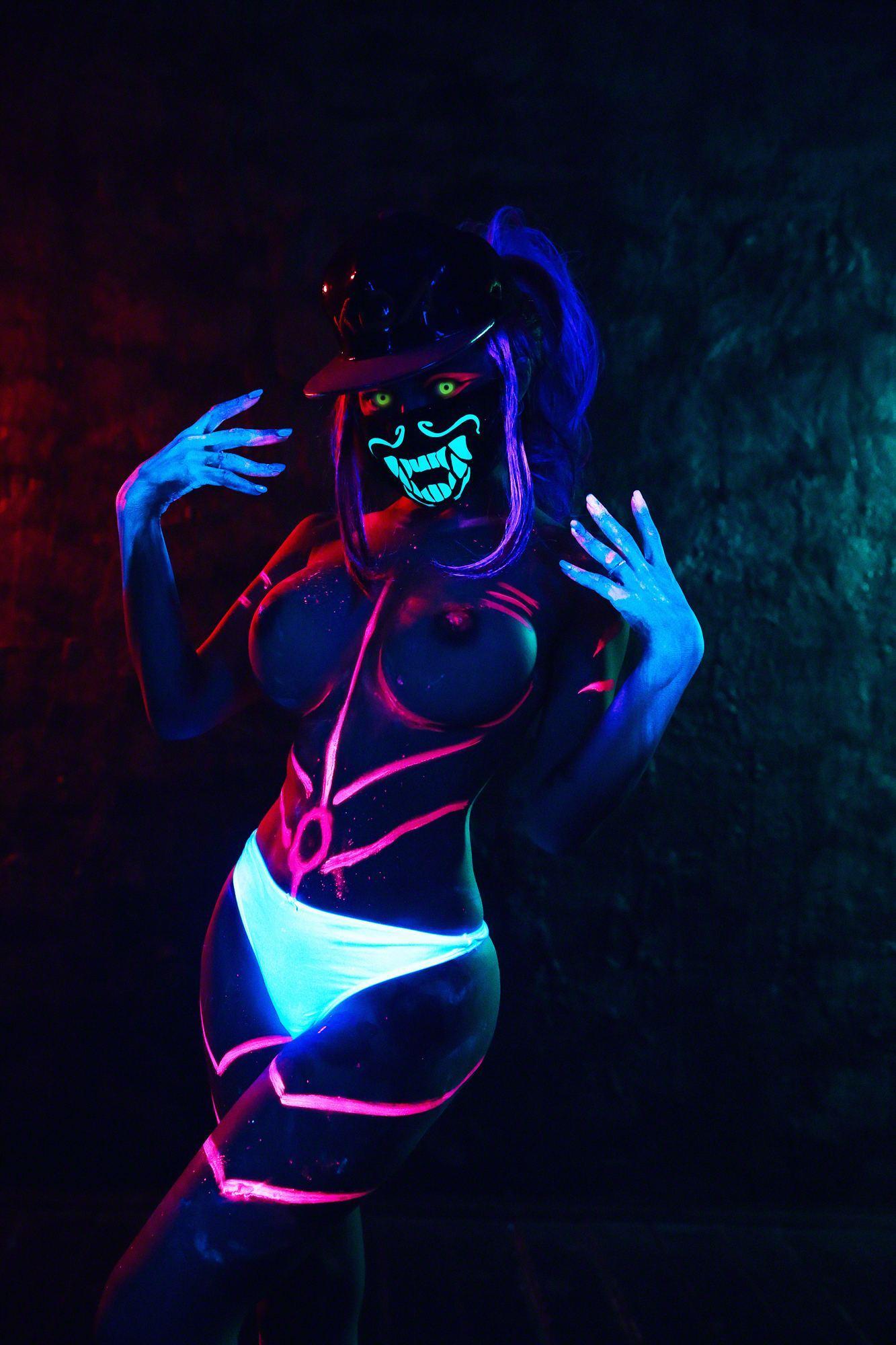 Kalinka Fox Nude Akali Cosplay Leaked 33