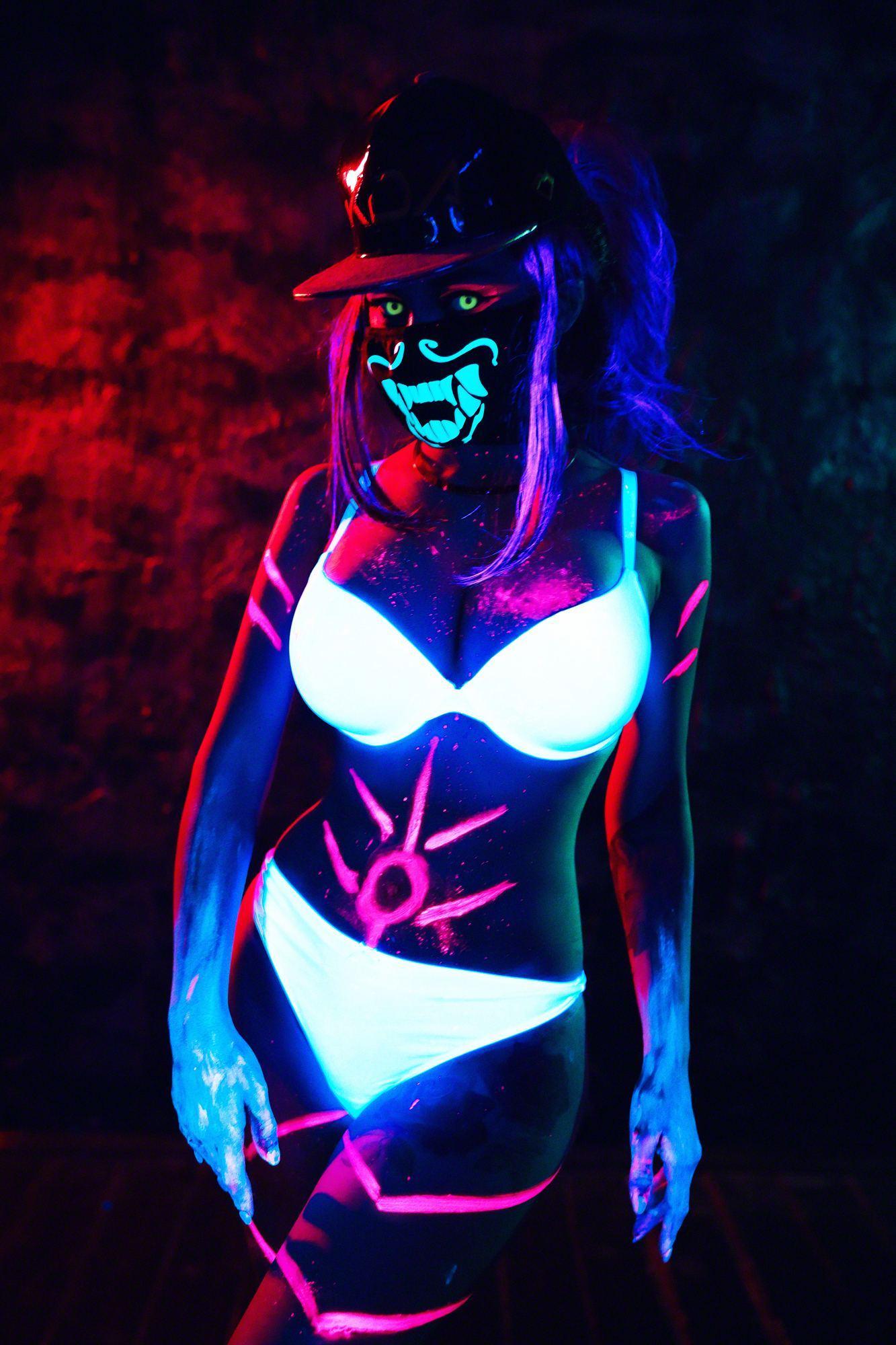 Kalinka Fox Nude Akali Cosplay Leaked 5