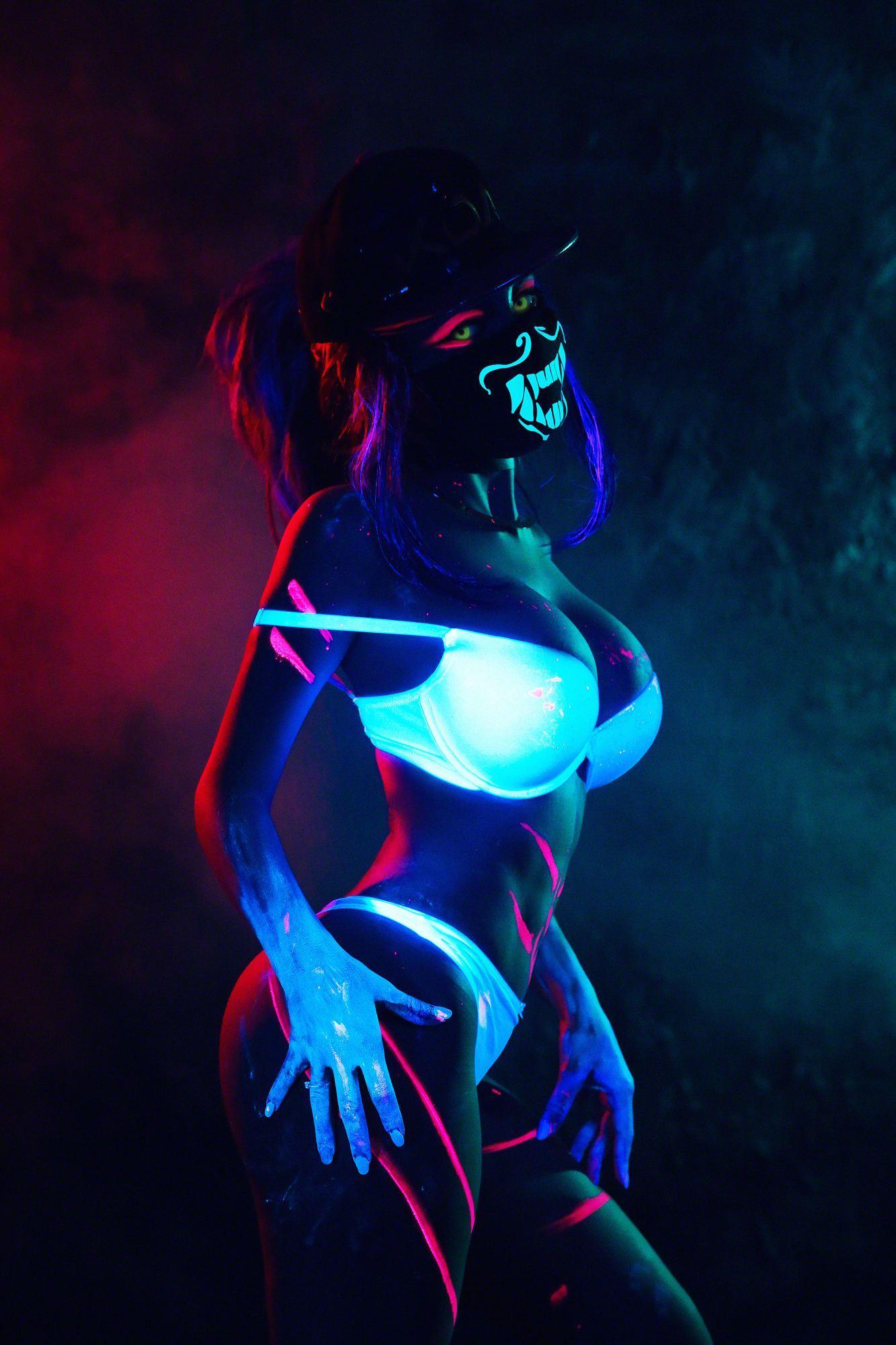 Kalinka Fox Nude Akali Cosplay Leaked 8