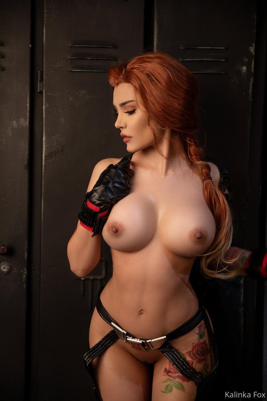Kalinka Fox Nude Black Widow Cosplay Patreon Leaked 1