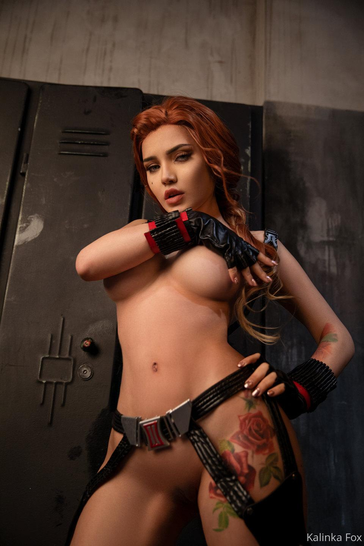 Kalinka Fox Nude Black Widow Cosplay Patreon Leaked 10