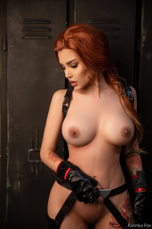 Kalinka Fox Nude Black Widow Cosplay Patreon Leaked 12