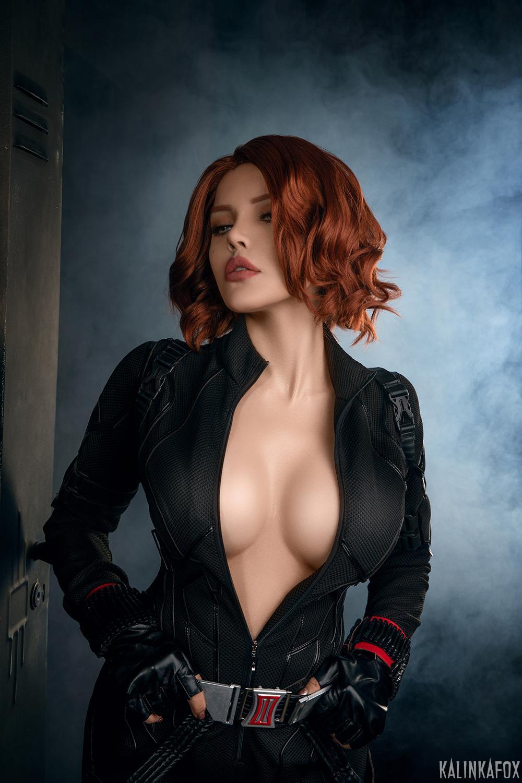 Kalinka Fox Nude Black Widow Cosplay Patreon Leaked 15