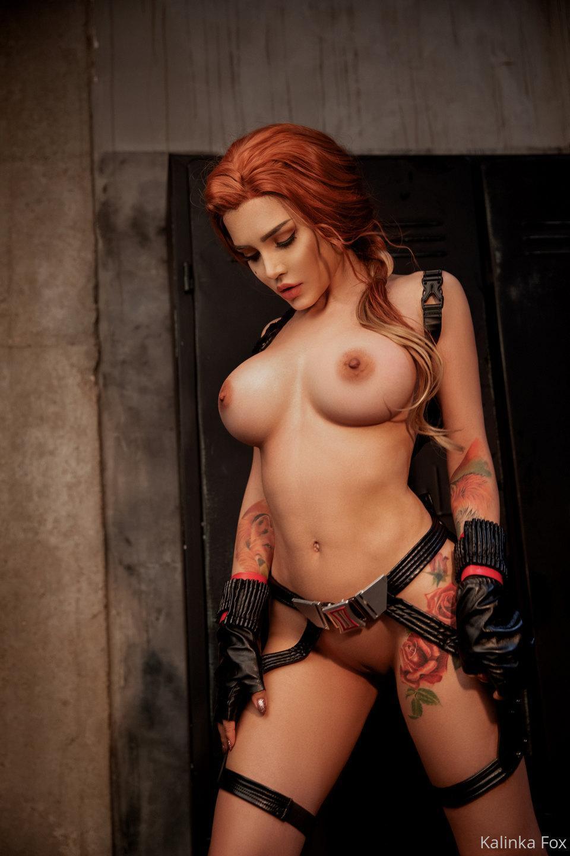 Kalinka Fox Nude Black Widow Cosplay Patreon Leaked 19