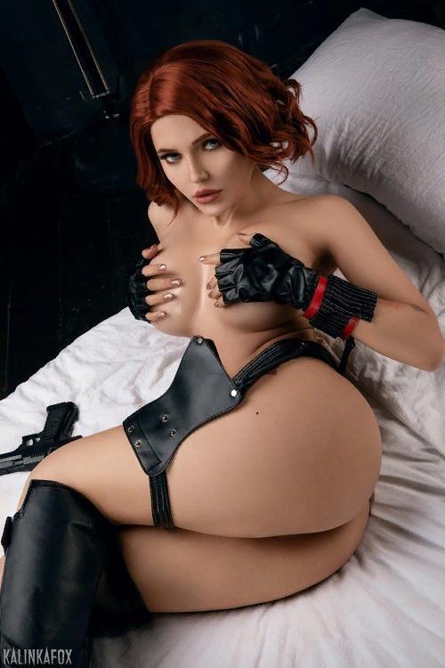 Kalinka Fox Nude Black Widow Cosplay Patreon Leaked 2