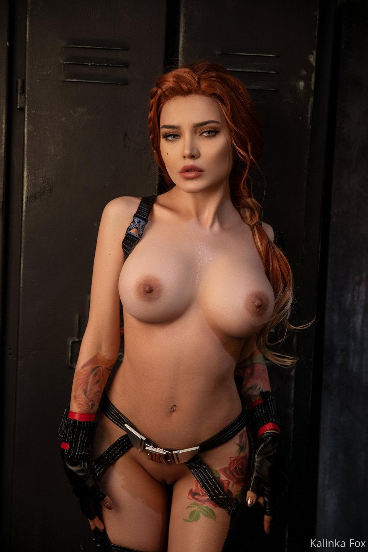 Kalinka Fox Nude Black Widow Cosplay Patreon Leaked 20