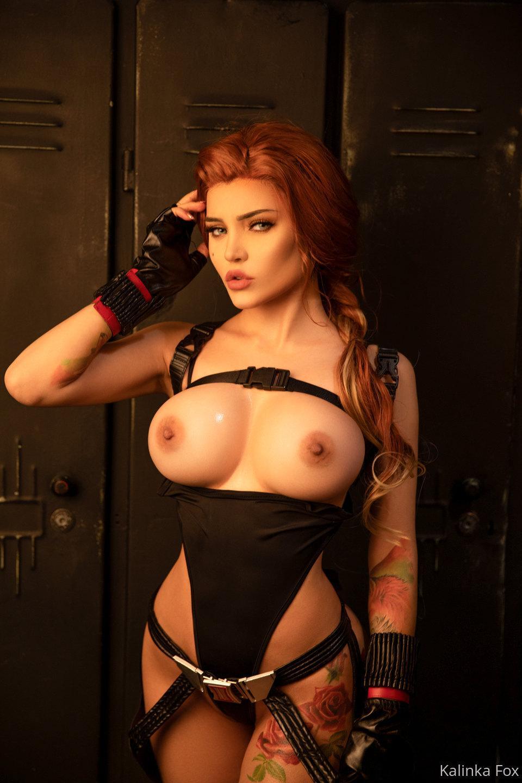 Kalinka Fox Nude Black Widow Cosplay Patreon Leaked 3