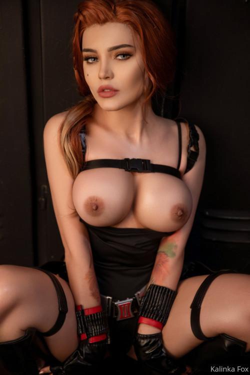 Kalinka Fox Nude Black Widow Cosplay Patreon Leaked 4