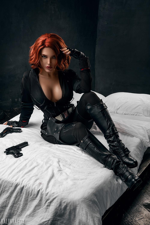 Kalinka Fox Nude Black Widow Cosplay Patreon Leaked 6