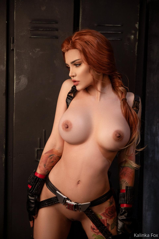 Kalinka Fox Nude Black Widow Cosplay Patreon Leaked 7