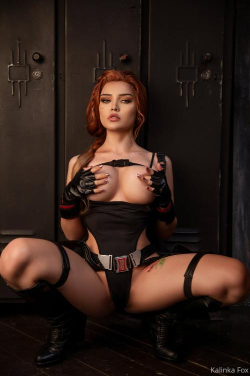 Kalinka Fox Nude Black Widow Cosplay Patreon Leaked 8