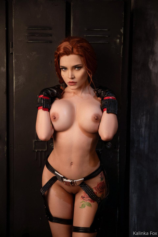 Kalinka Fox Nude Black Widow Cosplay Patreon Leaked 9