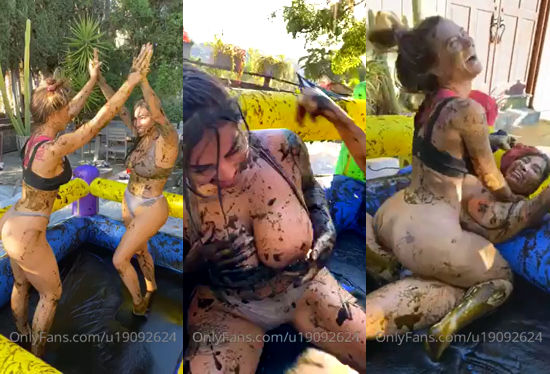 Lana Rhoades Lesbian Mud Wrestling With Brittanya Razavi Onlyfans Video Leaked