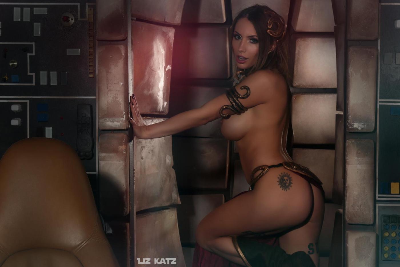 Liz Katz Slave Leia Nude Cosplay Onlyfans Leaked Photos 10