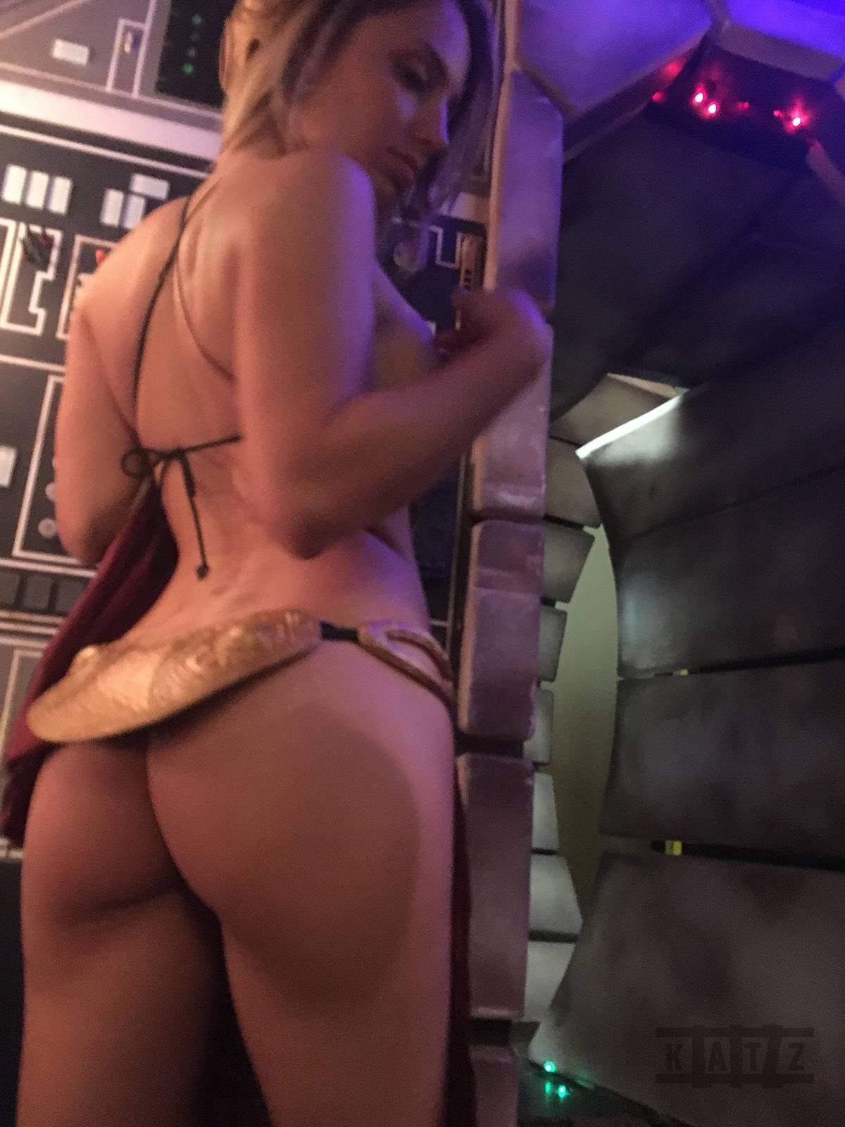 Liz Katz Slave Leia Nude Cosplay Onlyfans Leaked Photos 13