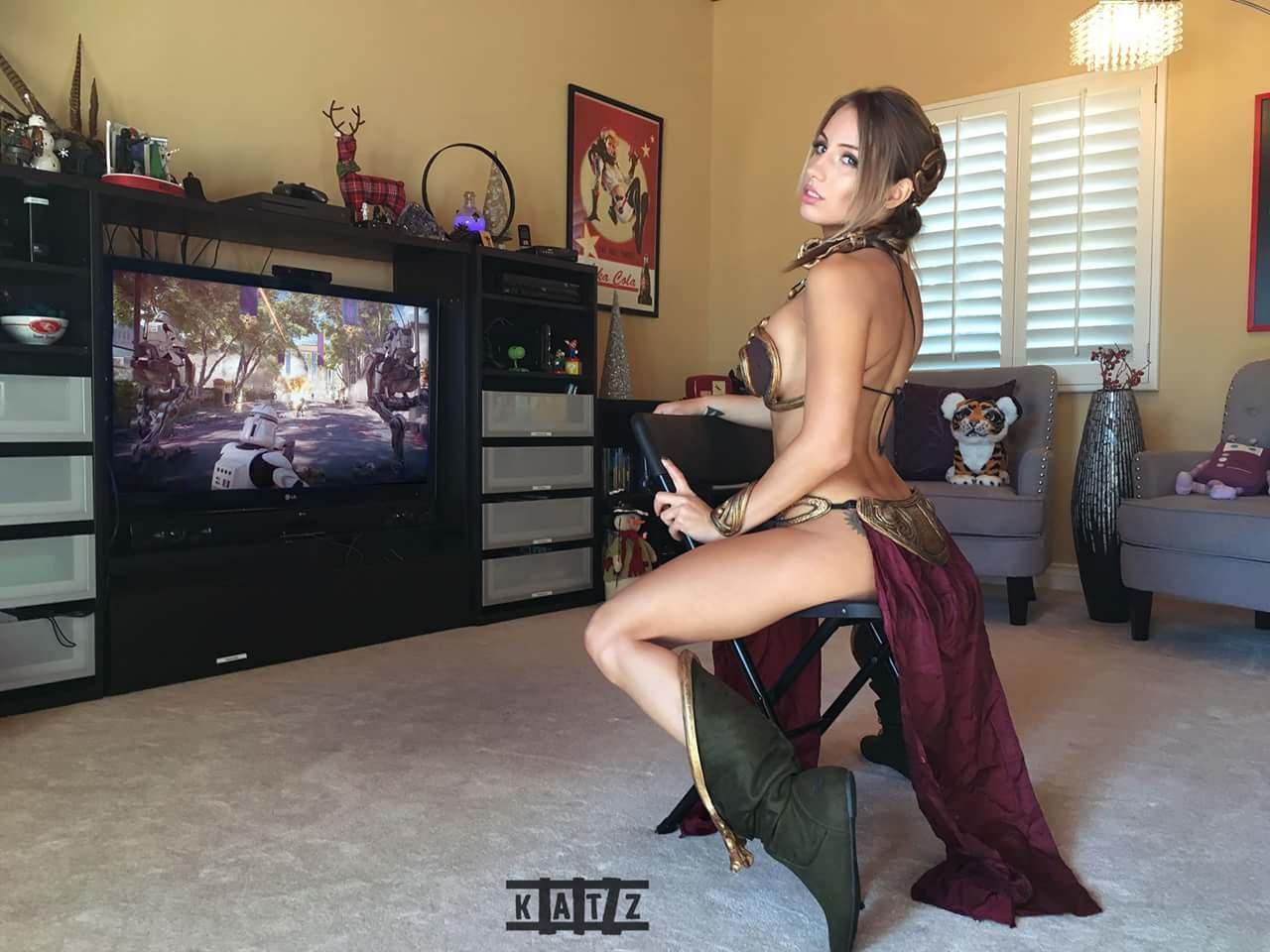 Liz Katz Slave Leia Nude Cosplay Onlyfans Leaked Photos 14