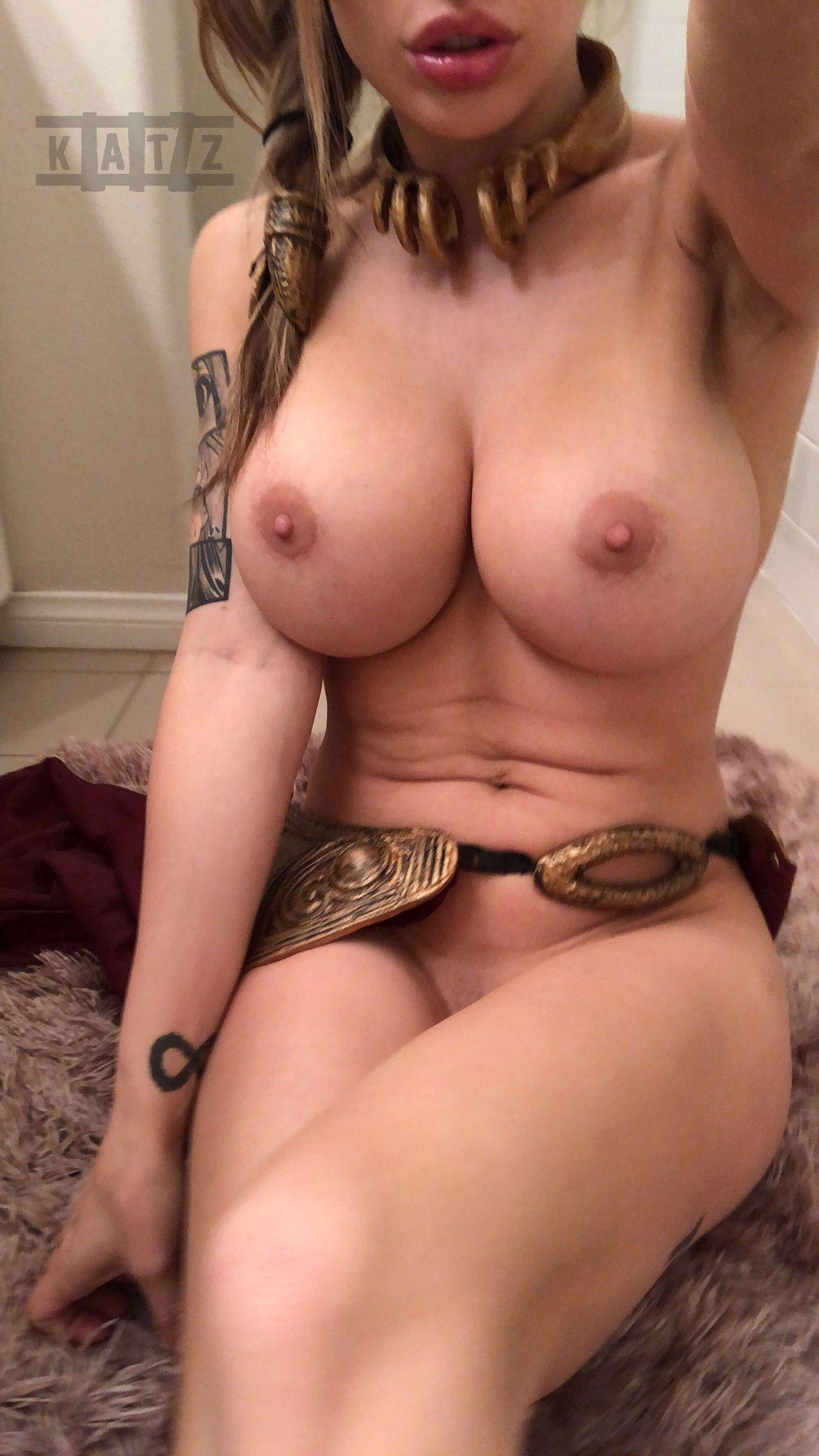 Liz Katz Slave Leia Nude Cosplay Onlyfans Leaked Photos 15