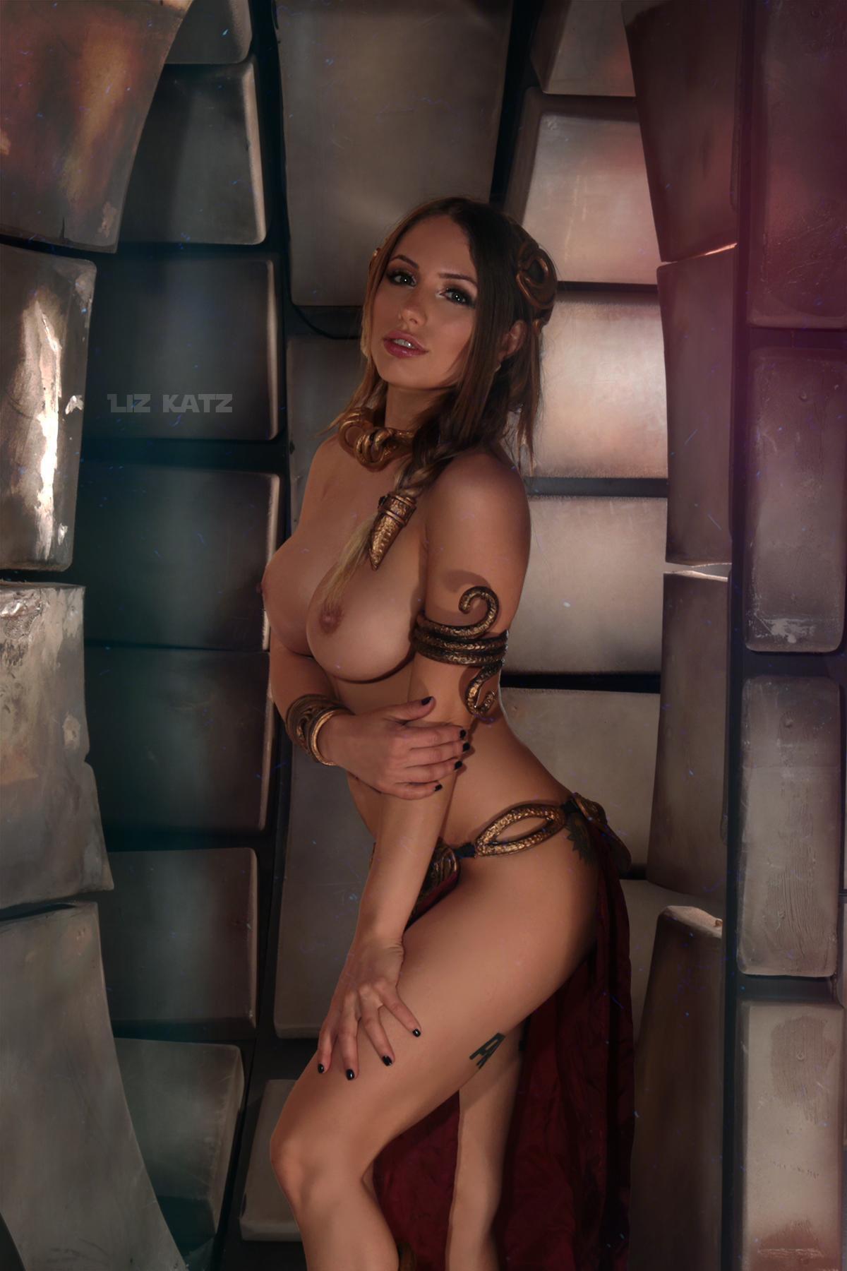 Liz Katz Slave Leia Nude Cosplay Onlyfans Leaked Photos 18