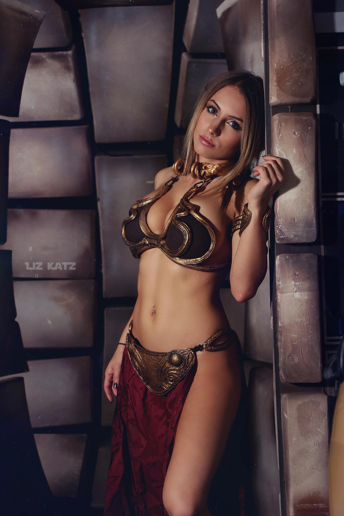 Liz Katz Slave Leia Nude Cosplay Onlyfans Leaked Photos 19