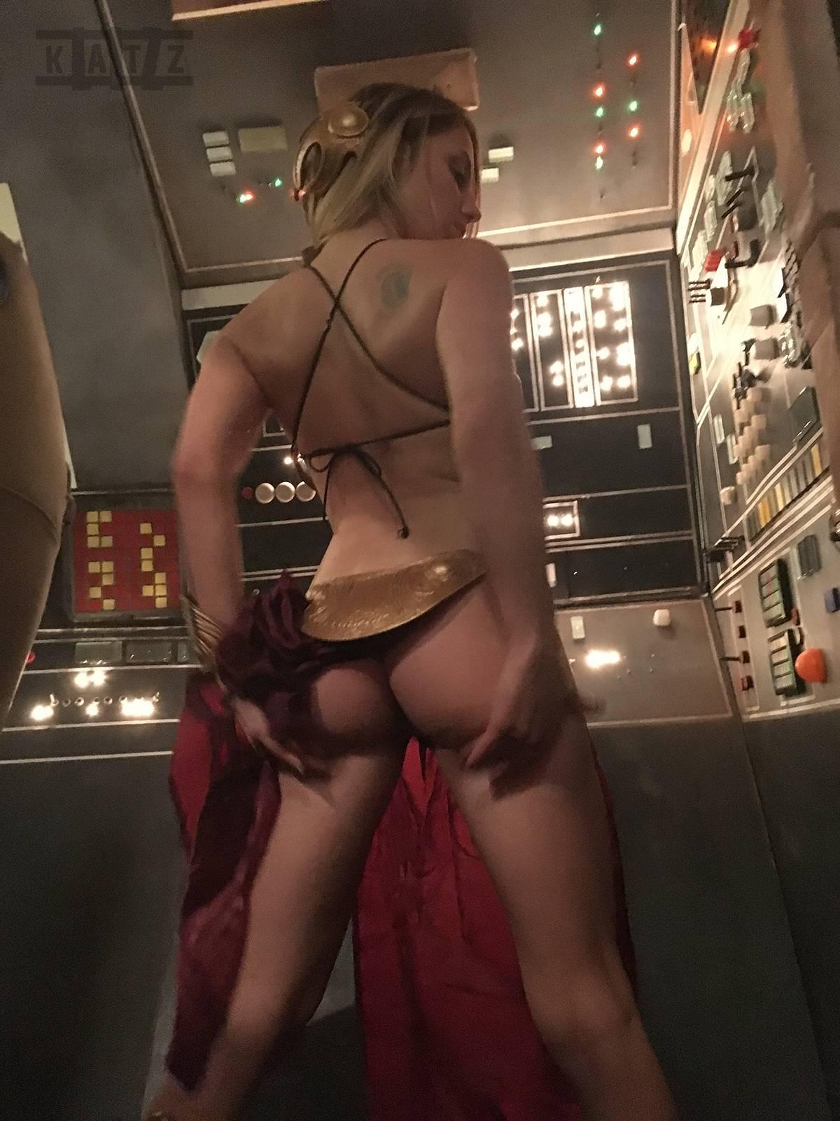 Liz Katz Slave Leia Nude Cosplay Onlyfans Leaked Photos 21