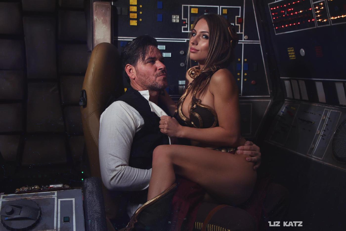 Liz Katz Slave Leia Nude Cosplay Onlyfans Leaked Photos 22