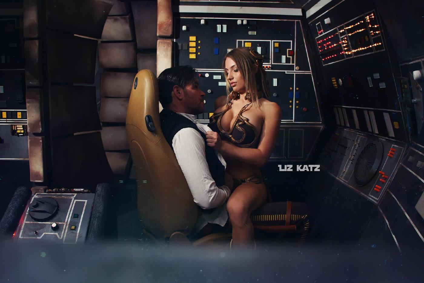Liz Katz Slave Leia Nude Cosplay Onlyfans Leaked Photos 25