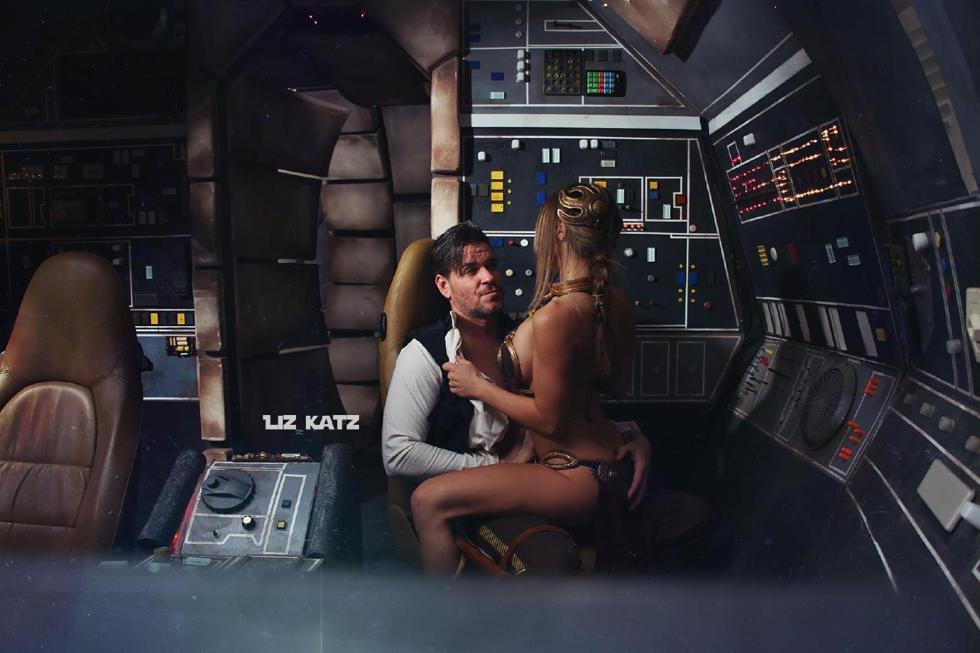 Liz Katz Slave Leia Nude Cosplay Onlyfans Leaked Photos 3