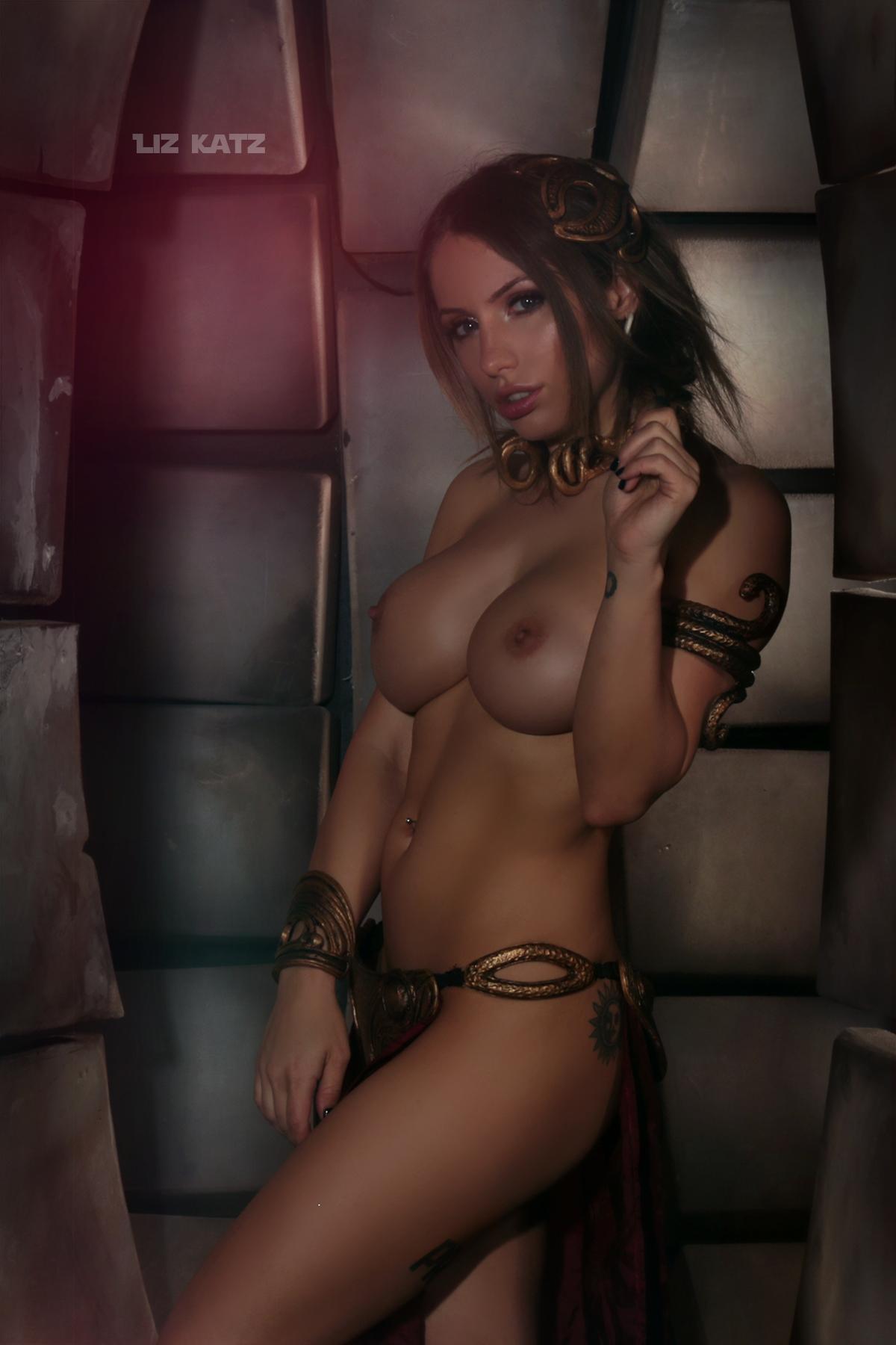 Liz Katz Slave Leia Nude Cosplay Onlyfans Leaked Photos 8