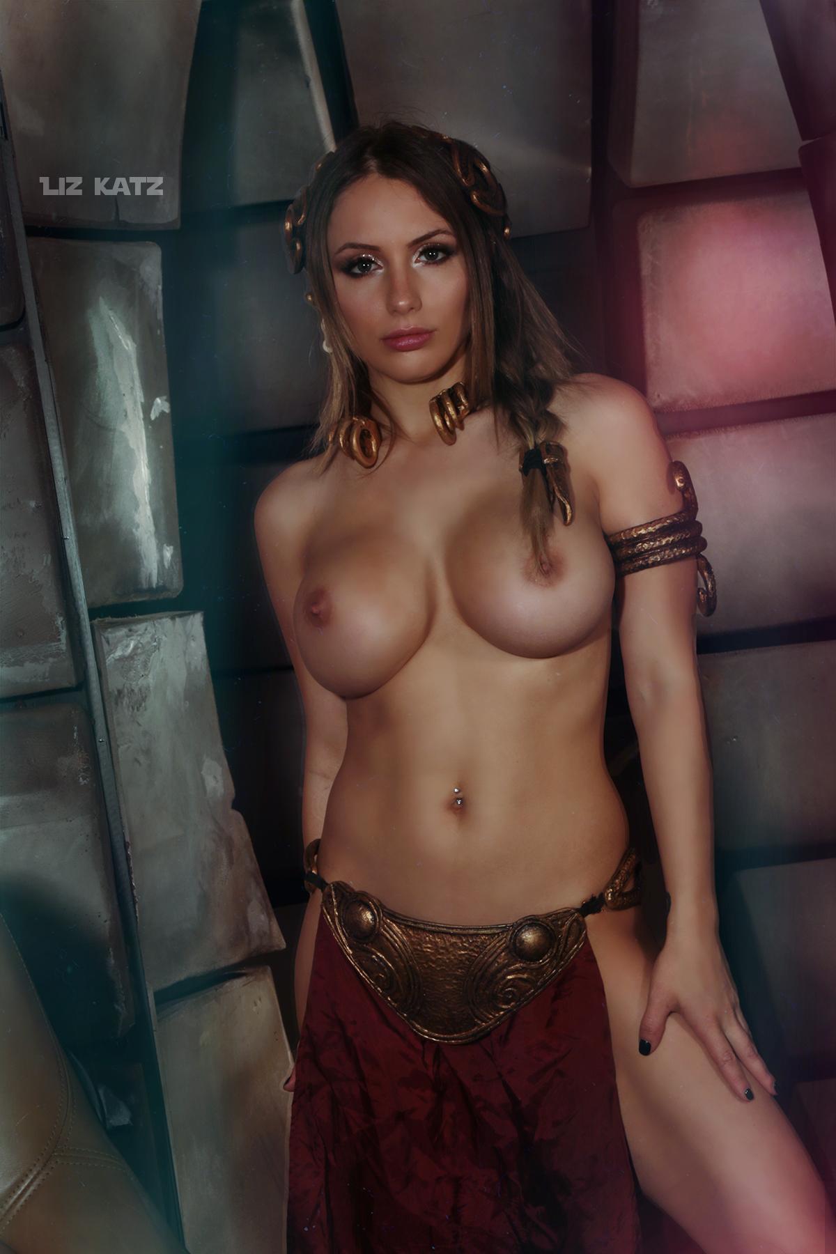 Liz Katz Slave Leia Nude Cosplay Onlyfans Leaked Photos 9