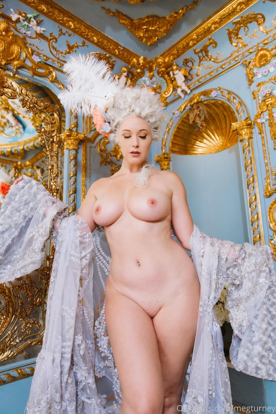Meg Turney PPV Marie Antoinette Nude Cosplay OnlyFans Leaked Video 20