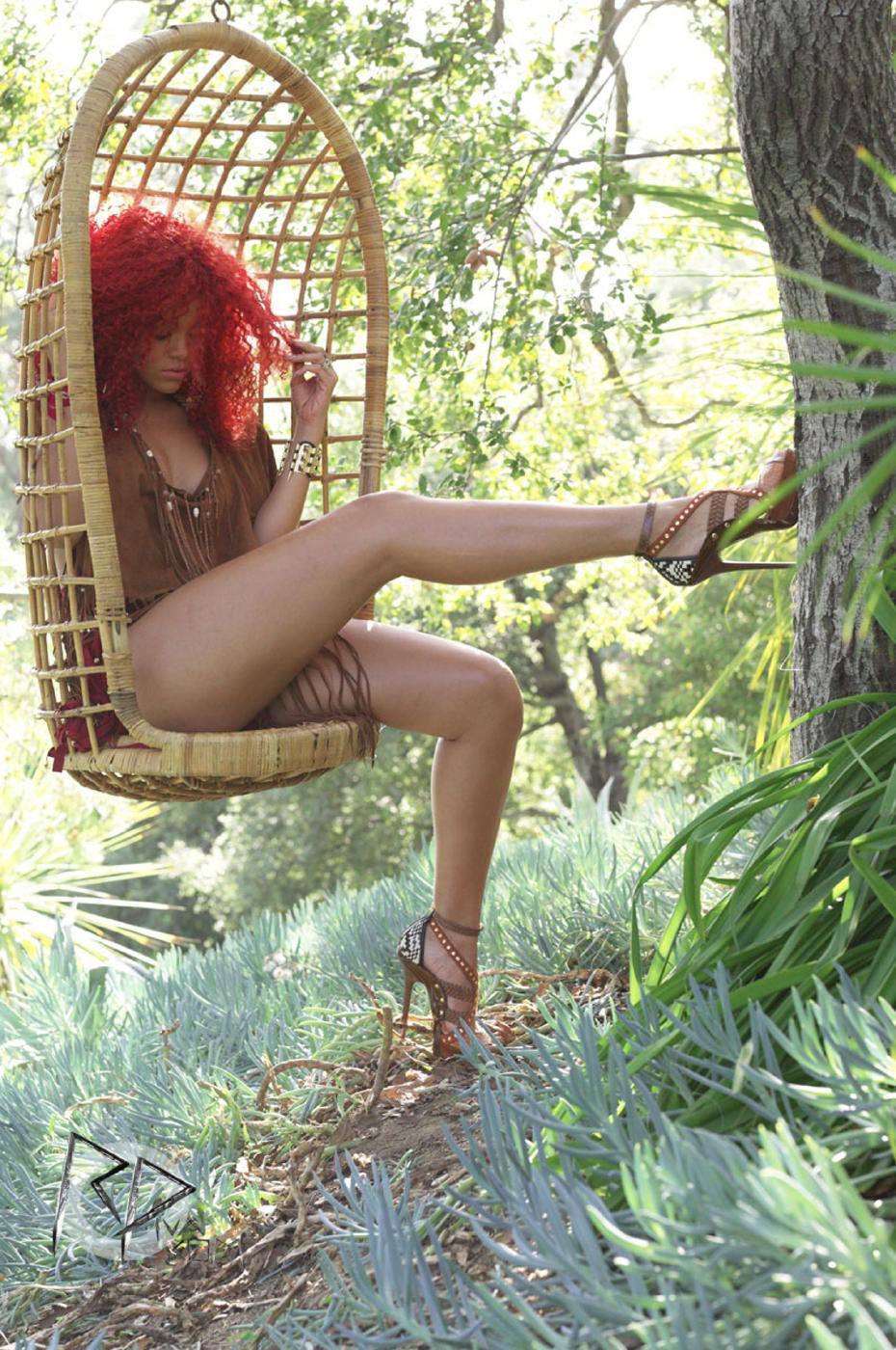Rihanna Redhead Bikini Photoshoot Set Leaked